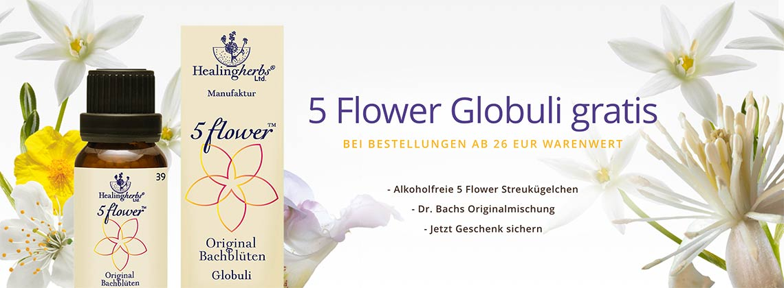 5 Flower Globuli Angebot